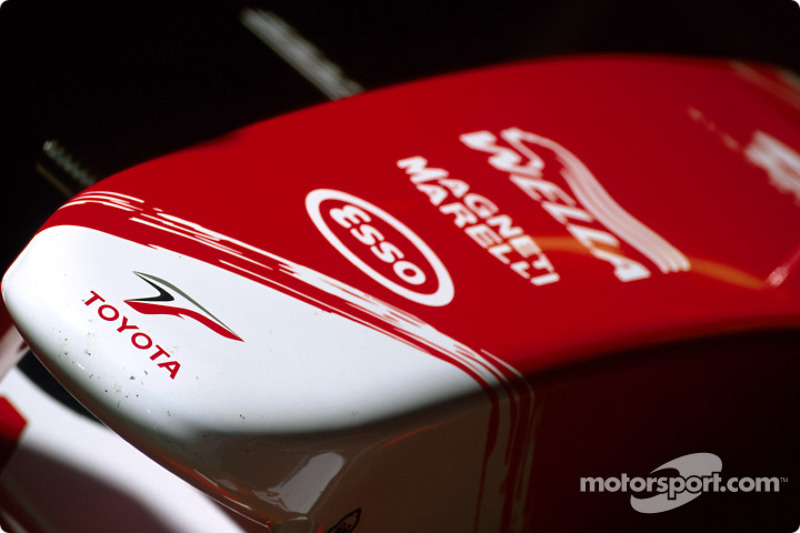 Toyota Racing TF103 nose cone