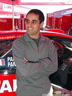 Juan Pablo Montoya visits World Rally Championship