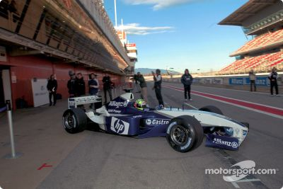BMW Williams F1 FW25 launch