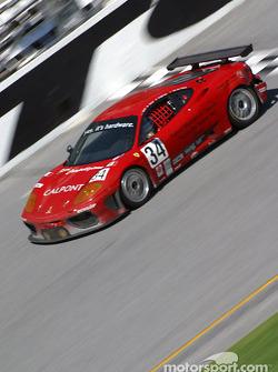 #34 Ferri Competizione Ferrari 360GT: Mauro Baldi, Justin Keen, Ryan Hampton, Eric Van de Poele