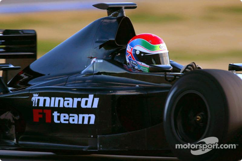 2002: Te lang voor de F1