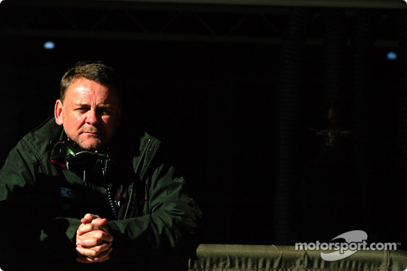 Jaguar Racing team manager David Stubbs