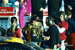 Interview for race winner Matt Kenseth