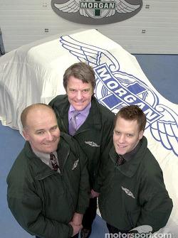 Equipo Morgan: Martin Short, Charles Morgan y Matt Griffin