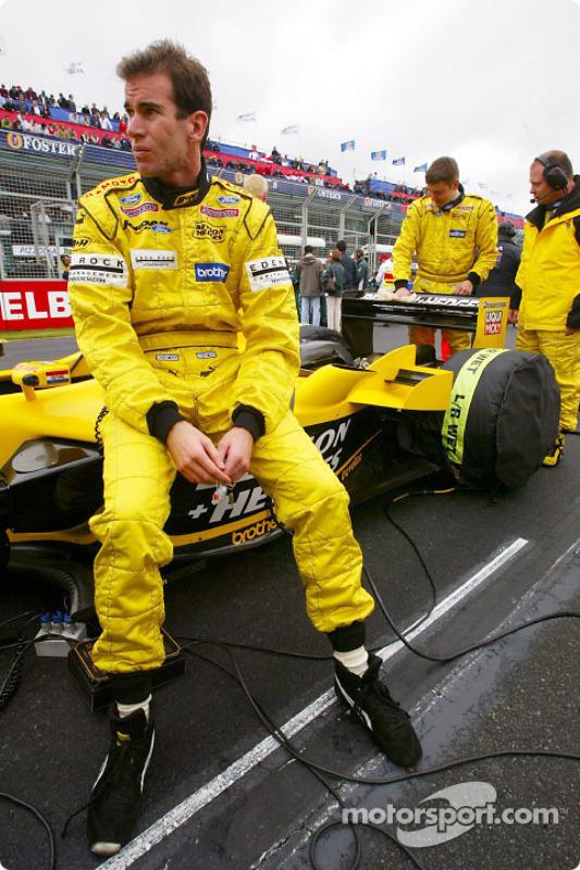 Ralph Firman on the starting grid