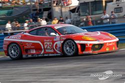 #29 JMB Racing USA / Team Ferrari Ferrari 360 Modena: Stephen Earle, Andrea Garbagnati, Ludovico Manfredi