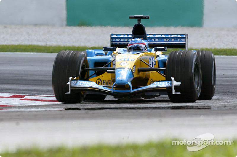 2003: Primeira pole e primeiro pódio de Alonso