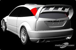 El nuevo Ford Focus RS WRC 03