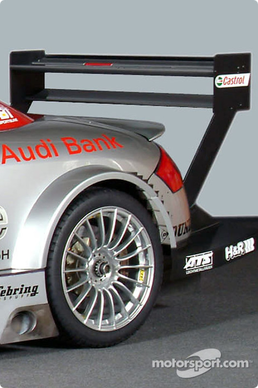 The Abt-Audi TT-R of the S line Audi Junior Team