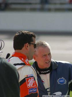 Tony Stewart and Mark Martin