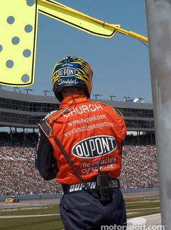 Jeff Gordon pit crew
