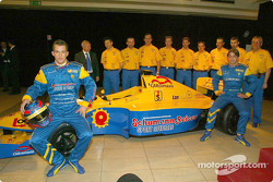 Sven Heidfeld, Augusto Farfus Jr. and the Team Draco crew