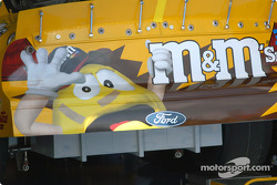 One scared M&M