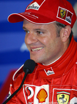 Press conference: pole winner Rubens Barrichello