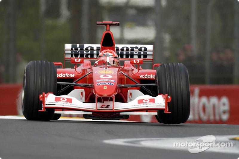 52. San Marino 2003, Ferrari F2002