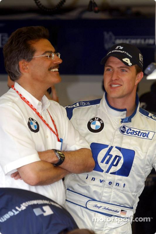 Mario Theissen et Ralf Schumacher