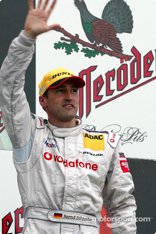 Podium: 1. Bernd Schneider, Team HWA, AMG-Mercedes CLK-DTM 2003