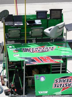Joe Gibbs Racing pit command center