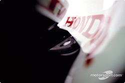 Bodywork detail of the BAR Honda 005