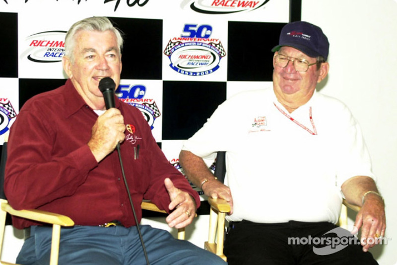 Racing legends Bobby and Donnie Allison