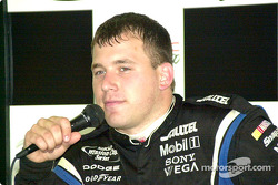 Ryan Newman in a press conference