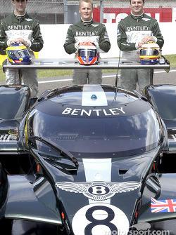 Team Bentley: David Brabham, Johnny Herbert and Mark Blundell