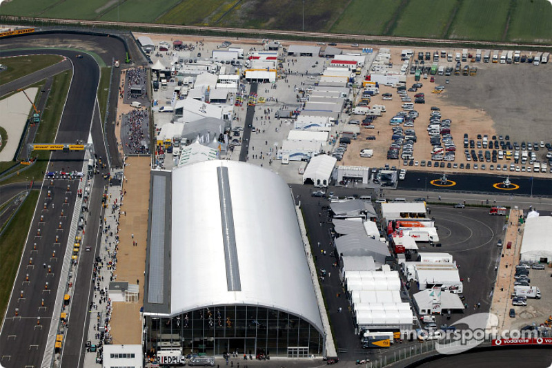 Aerial view of Adria International Raceway