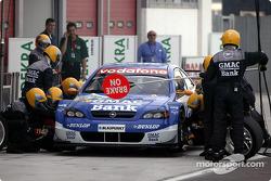Boxenstopp-Training: Alain Menu, OPC Team Holzer, Opel Astra V8 Coupé 2003