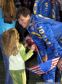 Michael Waltrip and no 1 fan