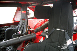 Stock car racing seats