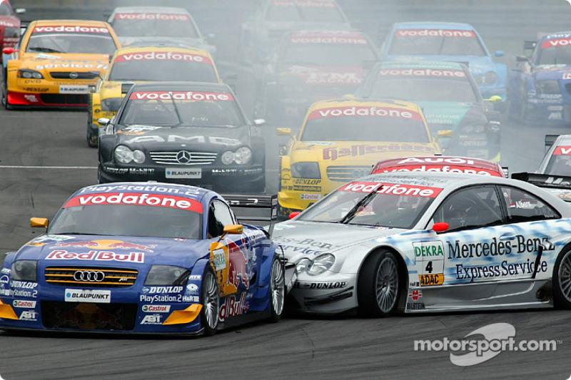 Кристиан Альберс, Mercedes CLK-DTM, Нюрбургринг-2003