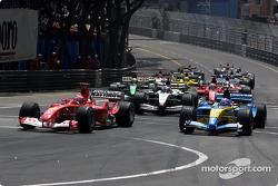 Inicio: Michael Schumacher y Fernando Alonso
