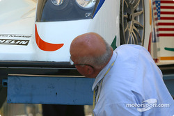 #6 Champion Racing Audi R8 at scrutineering