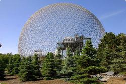 The Biosphere on Ile Ste. Hélène