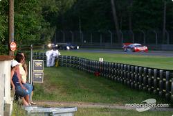A typical Le Mans scene