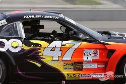 #47 TF Racing Mustang Saleen SR: John Kohler, Gary Smith