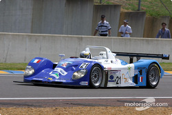 #21 Edouard Sezionale Norma M2000/2-Ford: Edouard Sezionale, Patrice Roussel, Lucas Lasserre heads to the starting grid