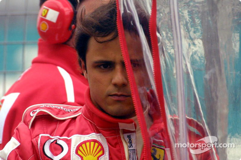 Фелипе Масса (тест-пилот Ferrari в 2003 году)