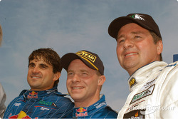 Mike Borkowski David Donohue and Scott Goodyear