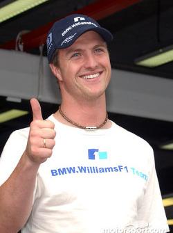 Pole winner Ralf Schumacher