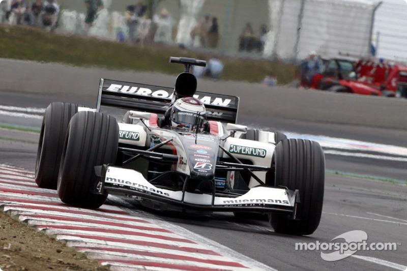 2003 - проміжний поул Йоса Ферстаппена і Minardi