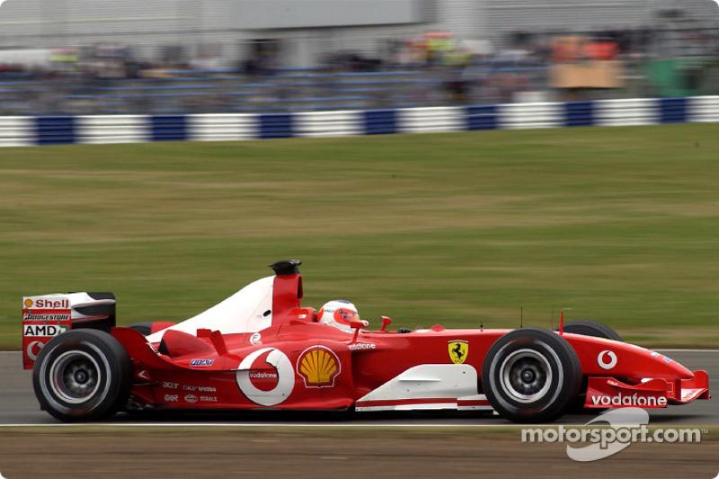 2003: Рубенс Баррикелло, Ferrari F2003-GA