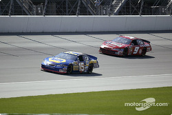 Michael Waltrip and Bill Elliott