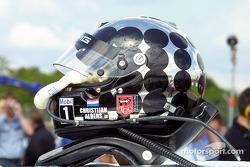 Christijan Albers's helmet