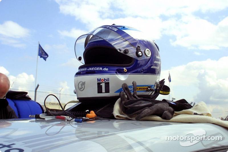 Thomas Jäger's helmet