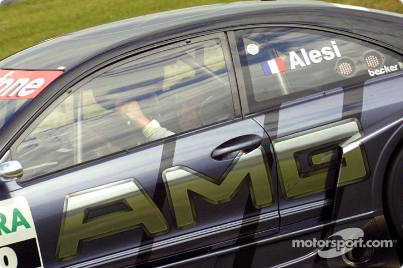 Race winner Jean Alesi