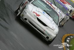 la Mustang Cobra R n°14 de l'équipe Frederick Motorsports pilotée par Tom Carolan, Michael DeFontes