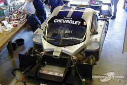 Bell Motorsports garage area