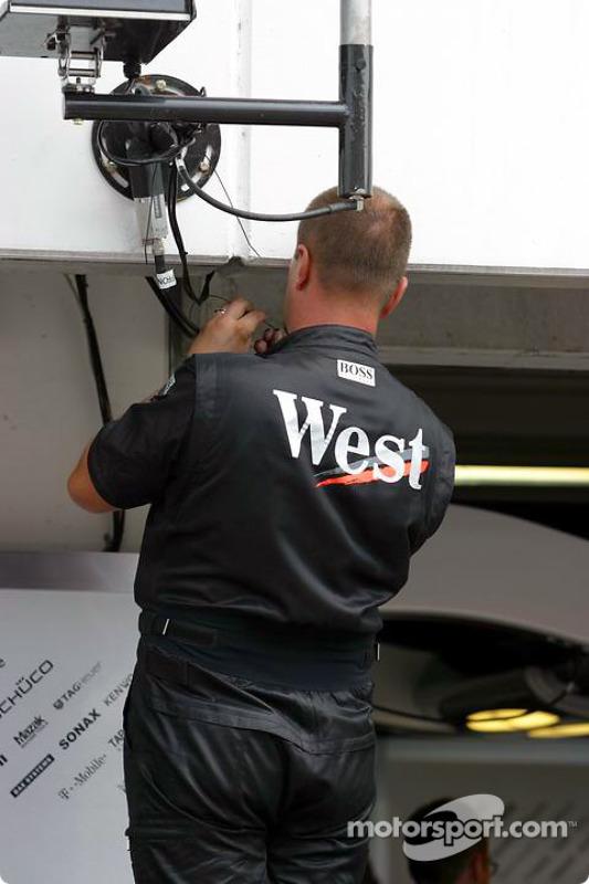 Membre de l'équipe McLaren
