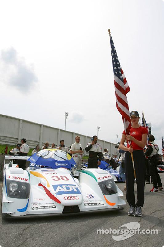 L' Audi R8 n°38 de l'équipe Champion Racing